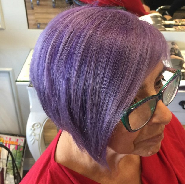 20 Gorgeous Pastel Purple Hairstyles For Short , Long And