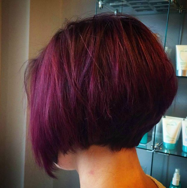 Strange 21 Hottest Stacked Bob Hairstyles Hairstyles Weekly Hairstyle Inspiration Daily Dogsangcom