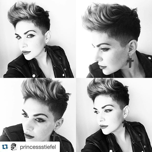 Short Spiked Pixie Cut For Women Hairstyles Weekly