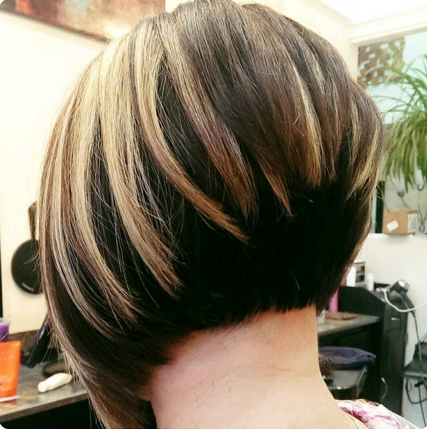 21 Hottest Stacked Bob Hairstyles - Hairstyles Weekly