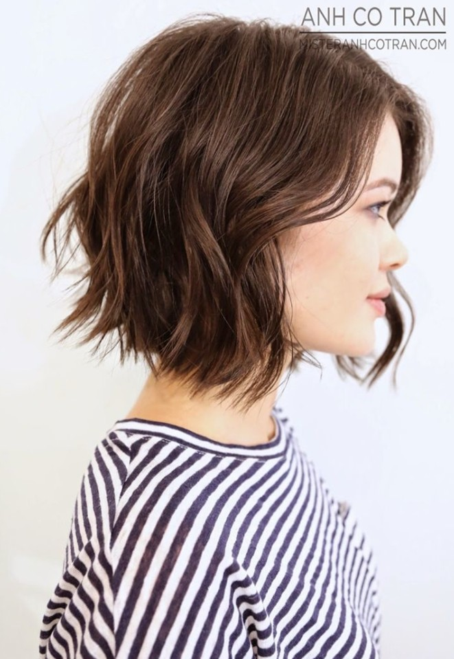 21 Adorable Choppy Bob Hairstyles For Women 2018
