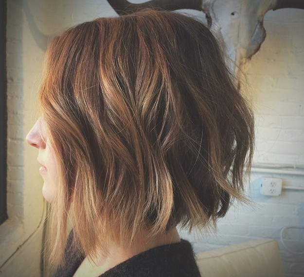 long choppy bob haircuts 1000 images about hair i want on ombre hair 5214 | textured choppy bob haircut with waves