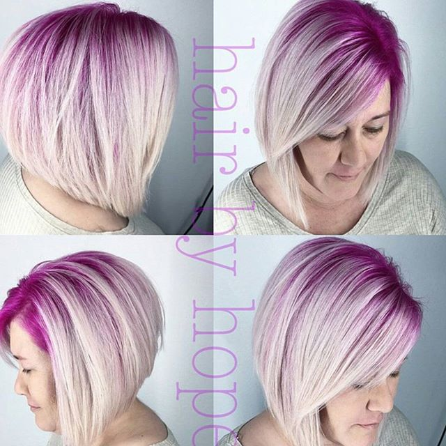 Admirable Trendy Two Tone Bob Haircut For Women Over 50 Hairstyles Weekly Schematic Wiring Diagrams Amerangerunnerswayorg