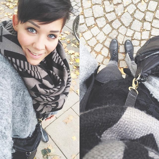 winter outfit ideas - short pixie cut for winter