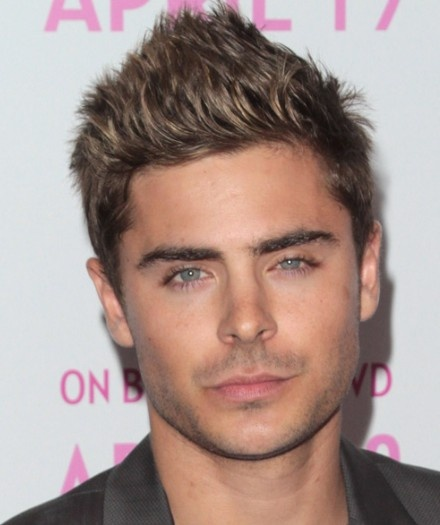 zac efron faux hawk hairstyle
