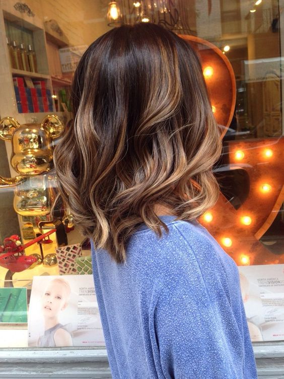 balayage hairstyles 2018 - balayage hair color ideas 2018