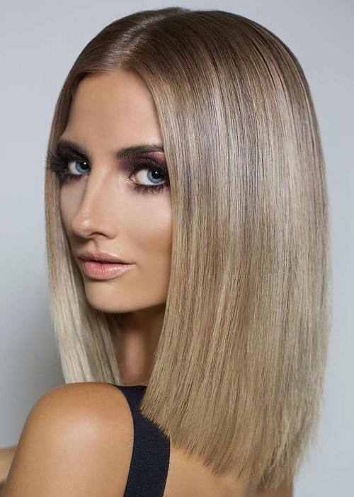 blunt haircuts for long hair 50 amazing blunt bob hairstyles you d to try bob 4866 | Long Blunt Bob