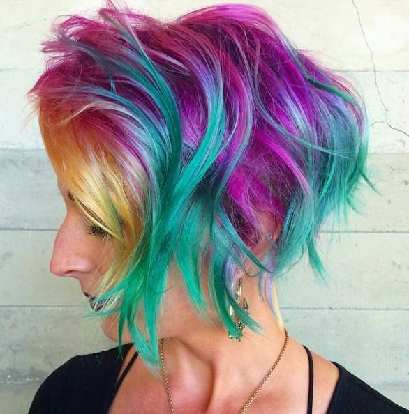 Amazing Balayage Short Hair Styles