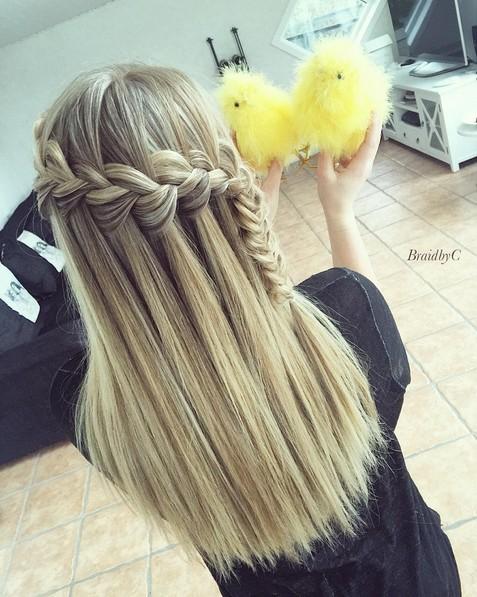 Amazing, Cute Braid Hairstyle - Straight Long Hair Ideas for Girls