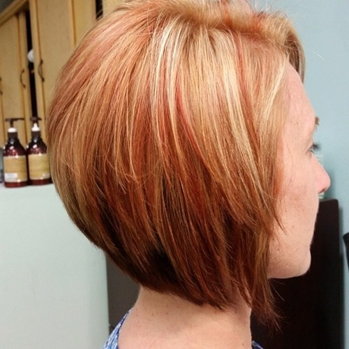 Blonde-Bob-Hairstyle-with-Red-Highlights-Straight-Short-Haircut-for-Women- d897ff4206