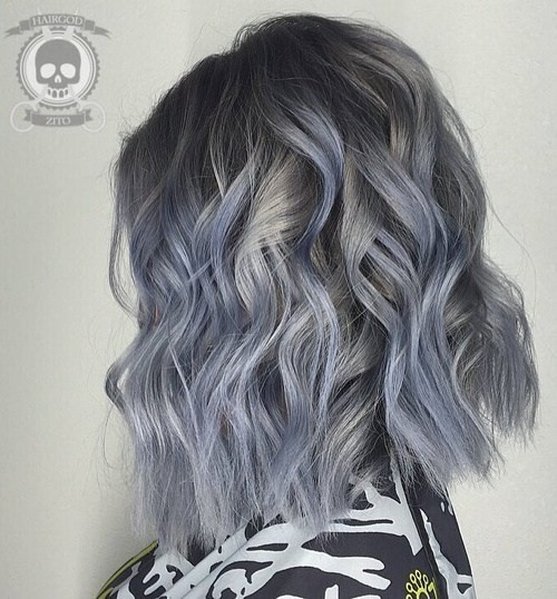 20 Trendy Gray Hairstyles Gray Hair Trend Amp Balayage