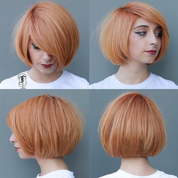 50 Hottest Balayage Hairstyles For Short Hair Balayage