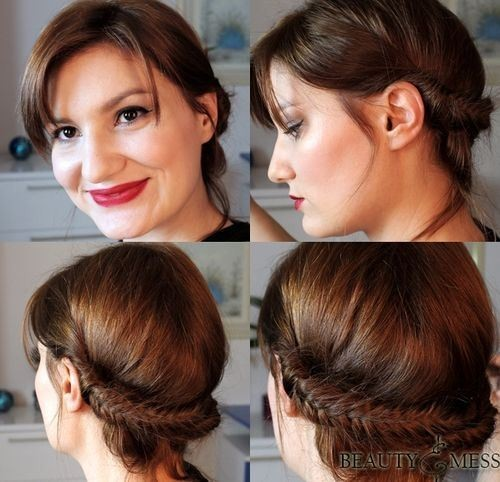 Braided Romantic Updo