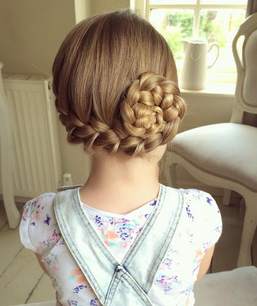 Cute Back to School Hairstyles - Pin-up Side French Braid, video