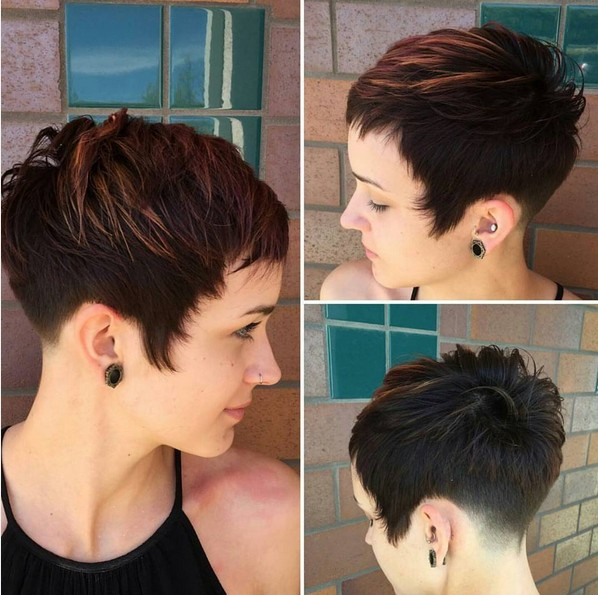 Cute, Easy Balyage Hair Styles with Pixie Cut
