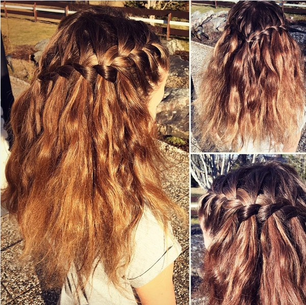 20 Best Waterfall Braid Hairstyle Ideas Hairstyles Weekly