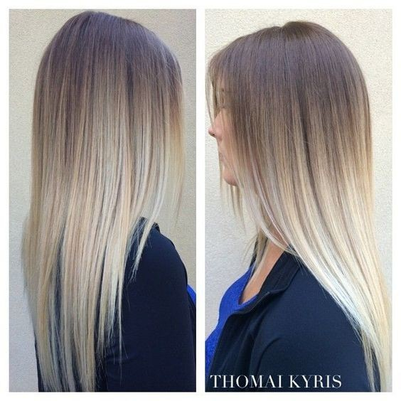 25 Amazing Two Tone Hair Styles Trendy Hair Color Ideas 2019