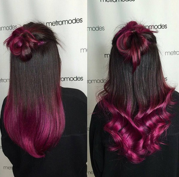 8 Trendy 2 Tone Hairstyles With Bright Colors