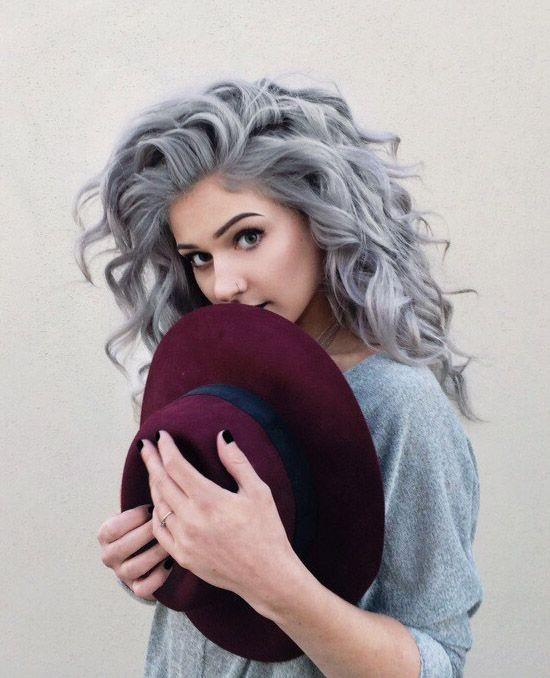 20 Trendy Gray Hairstyles Gray Hair Trend Balayage Hair Designs