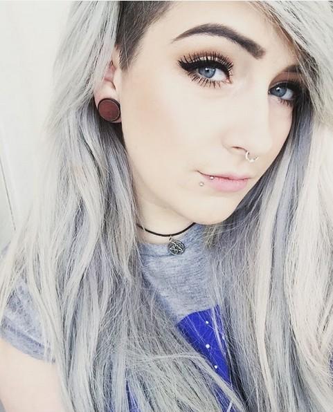 Strange 20 Trendy Gray Hairstyles Gray Hair Trend Amp Balayage Hair Short Hairstyles Gunalazisus