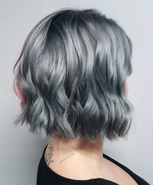 Miraculous 20 Trendy Gray Hairstyles Gray Hair Trend Amp Balayage Hair Hairstyles For Men Maxibearus