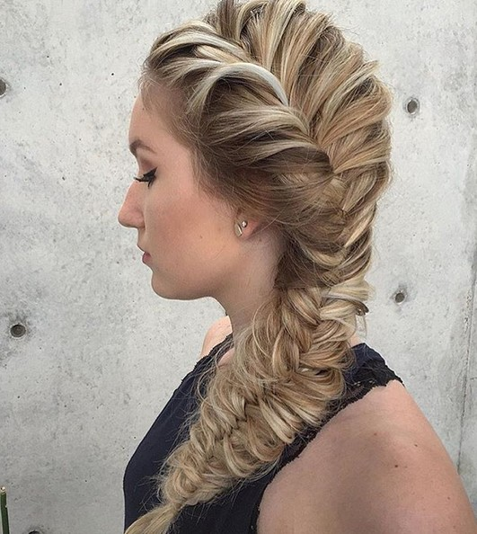 Such Perfection French Braided Hairstyle for Long Hair - Girl Hairstyles