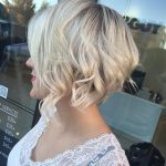 Textured Choppy Blonde Bob - Stacked Short Haircuts