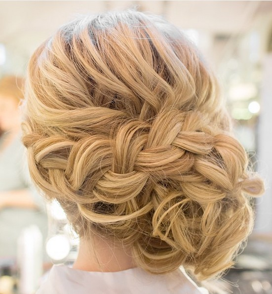 updo styles for shoulder length hair 35 wedding updos for medium hair wedding 8875