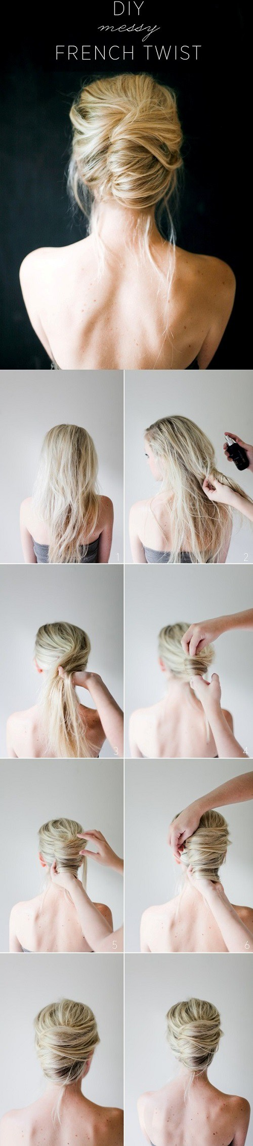 20 Simple Easy Hair Tutorials for Medium & Long Hair