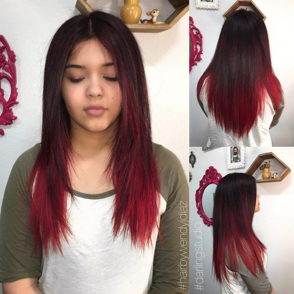 20 Best Red Ombre Hair Ideas 2020 Cool Shades Highlights