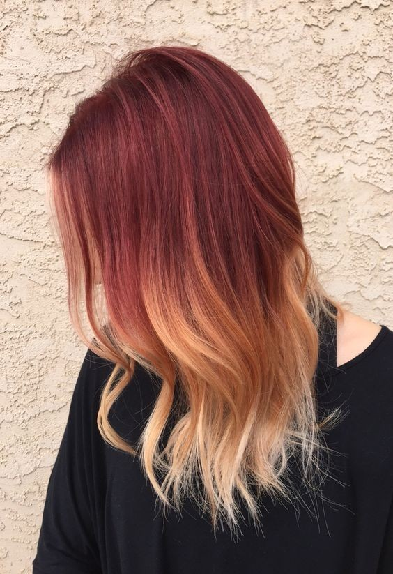 Stylish Hair Color for Medium Hair