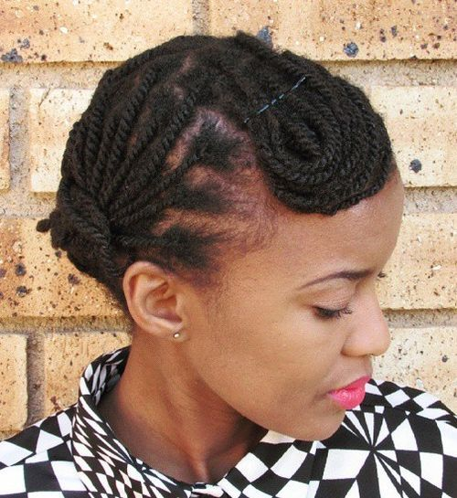 20 Beautiful Twisted Hairstyles For Women With Natural Hair 2021 Hairstyles Weekly