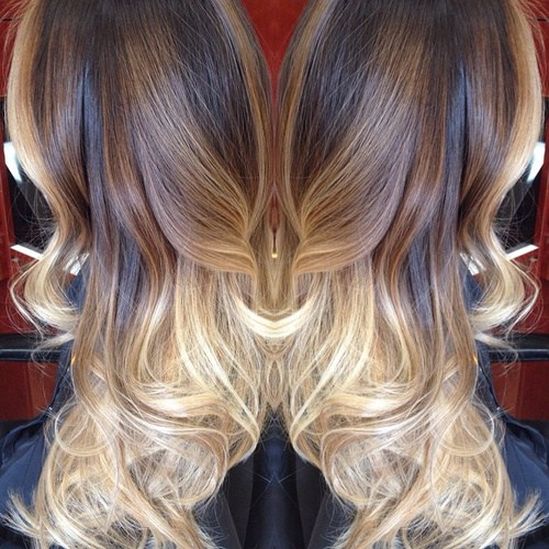 Blonde Ombre Hairstyle