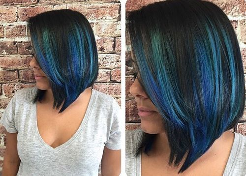 20 Blue Hair Color Ideas Pastel Blue Balayage Ombre