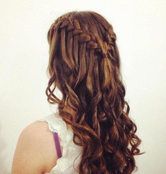Cute Easy Hairstyles For School Dances : Amazing braided hairstyles for homecoming wedding prom