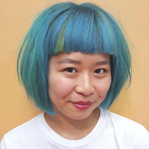 Cute Blue Bob