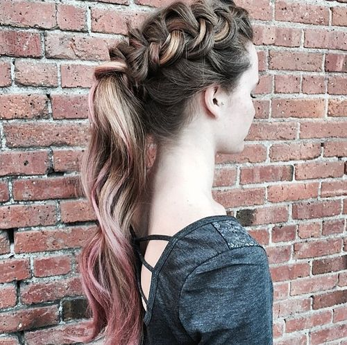 20 Easy French Braid Ponytails You May Want To Copy Hairstyles Weekly