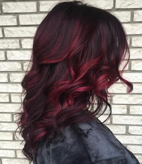 Lavender Hair for Mid-length Hair
