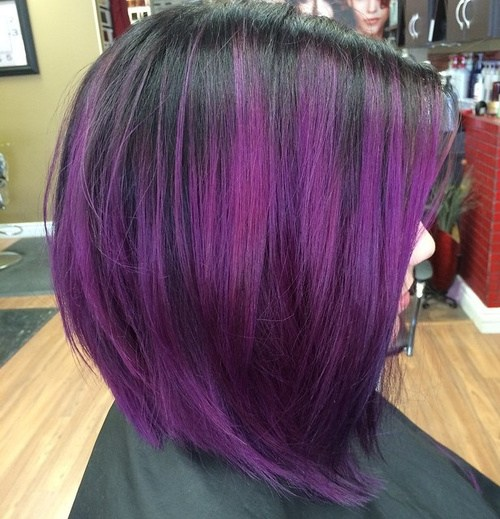 25 Amazing Purple Ombre And Lavender Ombre Hairstyles