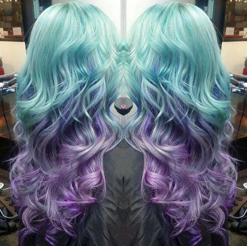 Ombre Waves