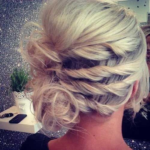 Pretty Homecoming Updos for Short Hair