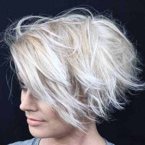 Windblown Choppy Hair
