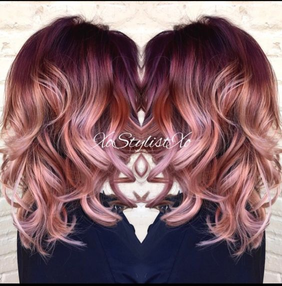 red hair color ideas for medium hair