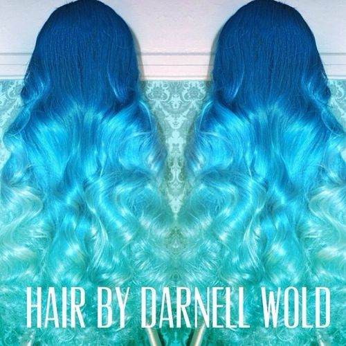 20 Blue Ombre Hairstyle You won't Miss