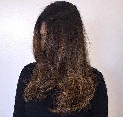 Fabulous Ombre Balayage Hair Styles Hottest Hair Color - Dark brown ombre hairstyle to blonde