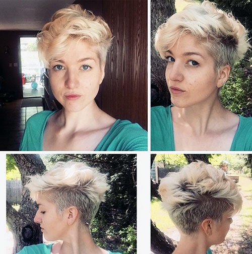 40 Hottest Short Wavy, Curly Pixie Haircuts 2020 , Pixie