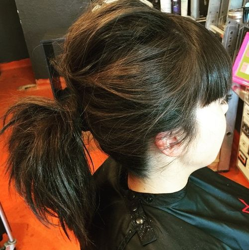 50 Pretty Easy Messy Ponytail Hairstyles You Can Try