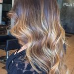 Balayage Highlights for Wavy Hair