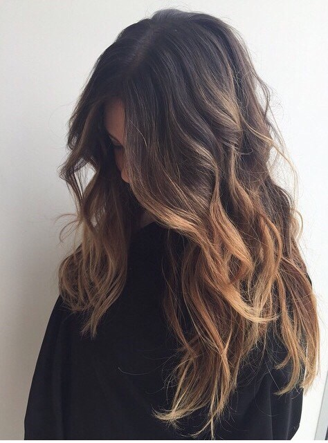 Blonde Highlights for Long Waves