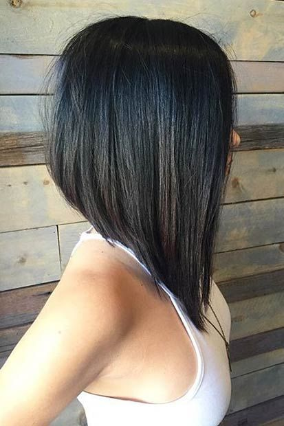 graduated long bob hairstyles
